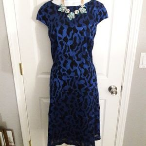 Anne Klein blue dress size 12